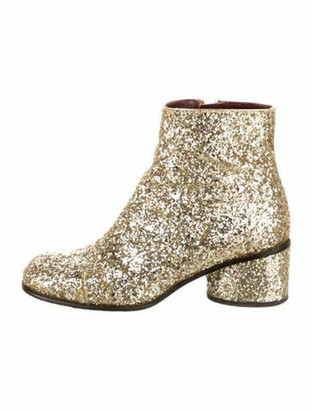Marc Jacobs Boots Gold
