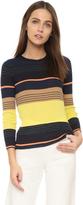 Apiece Apart Zia Striped Knit Top