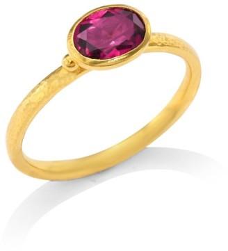 Gurhan Delicate Hue Pink Tourmaline Stacking Ring