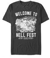 Fifth Sun Men's Tee Shirts BLACK - Hell Fest Map Tee - Men