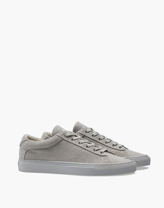 Madewell Koio Capri Perla Low-Top Sneakers in Grey Canvas