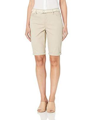 Gloria Vanderbilt Women's Petite Joslyn Single Cuff Bermuda Short