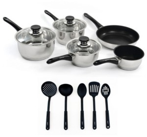 Berghoff Vision 18/10 Stainless Steel 13-Pc. Cookware Set
