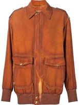 Vivienne Westwood 'Lily' bomber jacket - unisex - Silk/Cupro - One Size