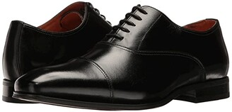 Florsheim Corbetta Cap Toe Oxford (Black Smooth) Men's Lace up casual Shoes