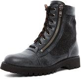 Maison Martin Margiela Zip Up Boot in Black
