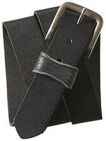 Aeropostale Mens Solid Core Leather Belt