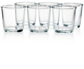 Martha Stewart Collection Heirloom Set of 6 Rocks Glasses