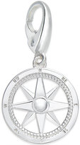Giani Bernini Compass Charm in Sterling Silver