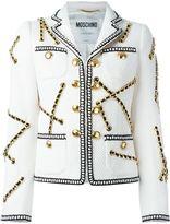 Moschino chain embellished jacket