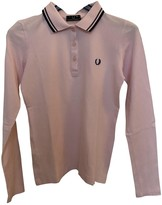 Fred Perry Pink Cotton Top for Women
