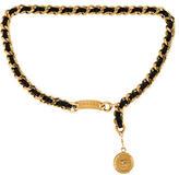 Chanel Chain-Link Medallion Waist Belt
