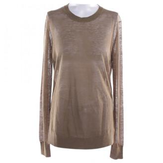 Diane von Furstenberg Khaki Linen Knitwear