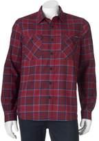 ZeroXposur Men's Classic-Fit Plaid Performance Flannel Button-Down Shirt
