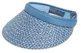 Eric Javits Women's Bradfield Packable Visor - Blue
