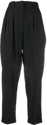 IRO high waisted pleated trousers