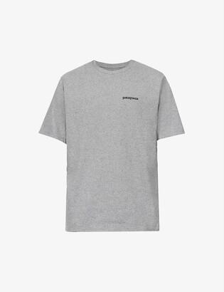 Patagonia Logo-print recycled cotton-blend T-shirt