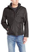 London Fog FOG by Men's Newfields Waterproof Breathable Rain Jacket