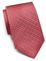 Saks Fifth Avenue Silk Medallion Tie