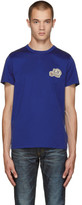 Moncler Blue Logo T-Shirt