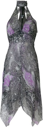 Giorgio Armani Pre-Owned Halterneck Dress