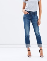 G Star 3301 High Straight Jeans