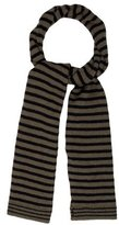 Bonpoint Girls' Wool Striped Scarf w/ Tags