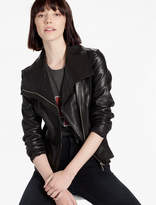 Lucky Brand Waterfall Leather Jacket