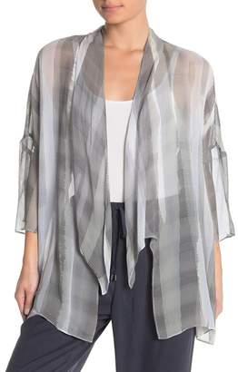 Go Silk Go by Cascade Silk Kimono Duster