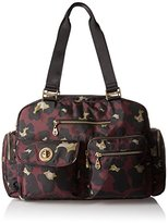 Baggallini Gold International Venice Laptop SCR CHE Shoulder Bag