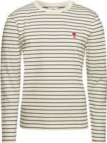 ami Striped Cotton Top