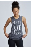 Spiritual Gangster Peace Love & Yoga Coachella Tank