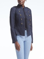 Banana Republic Denim Band Jacket
