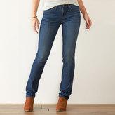Women's SONOMA Goods for LifeTM Slim Fit Straight-Leg Jeans