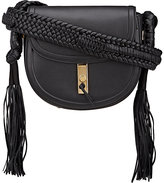 Altuzarra Women's Ghianda Bullrope Small Saddle Bag-BLACK