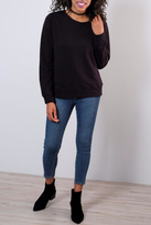 Mono B Lace Up Back Sweatshirt