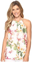 Tommy Bahama Le Tigre Orchid Halter Top