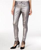 Tinseltown Juniors' Metallic Coated Skinny Jeans