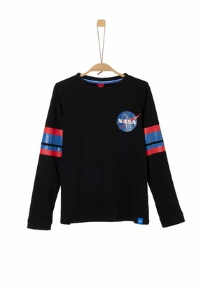 S'Oliver Girl's 66.911.31.8971 Long Sleeve Top