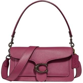 Coach Tabby Embellished Leather Shoulder Bag