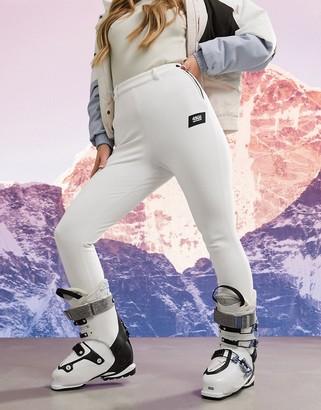 ASOS 4505 skinny ski pants with stirrup in yellow