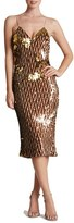 Dress the Population 'Nina' Sequin Midi Slipdress