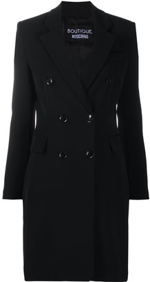 Boutique Moschino Double-Breasted Coat