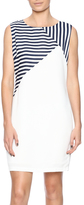 Jade Navy Striped Dress