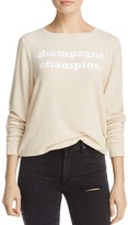 Dream Scene Champagne Champion Sweatshirt