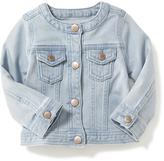 Old Navy Banded-Collar Denim Jacket for Baby