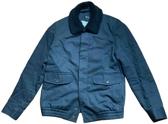A.P.C. Blue Cotton Jackets