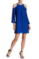 Maggy London Solid Eyelet Blossom Dress