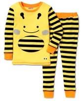 Skip Hop SKIP*HOP® ZOOJAMASTM Bee Long-Sleeve Pajama in Yellow