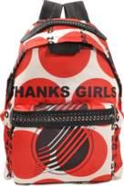 Stella McCartney Eco Nylon Mini Backpack Falabella Go